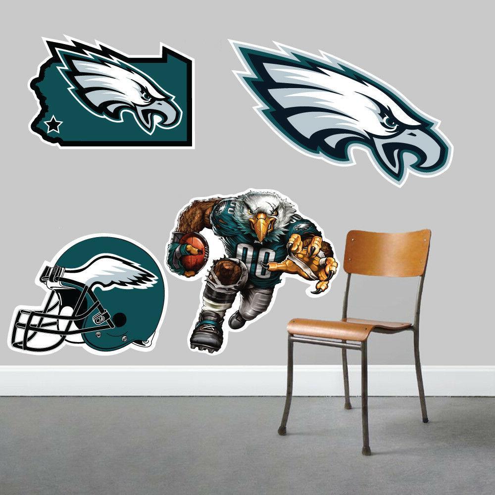 Philadelphia Eagles Wall Art 4 Piece Set Large Size------New