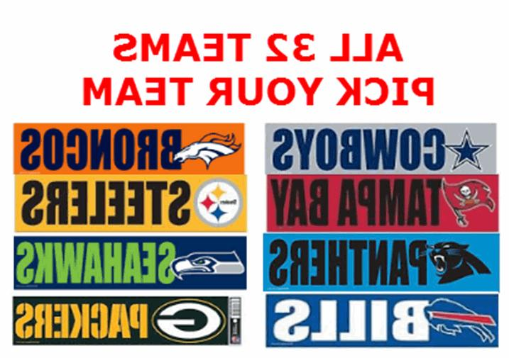 pick team or set of nfl bumper