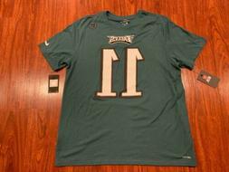 Nike Men's Carson Wentz Philadelphia Eagles Football Jerse