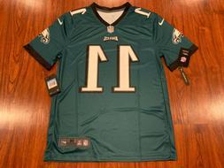 Nike Men's Carson Wentz Philadelphia Eagles Green Legend V