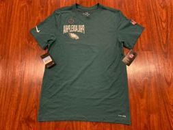 Nike Men's Philadelphia Eagles DFCT Green Facility Jersey