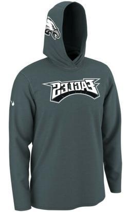 Nike Men's Philadelphia Eagles Helmet Hoodie Long Sleeve J