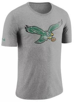 Nike Men's Philadelphia Eagles Historic Tri Blend Crackle