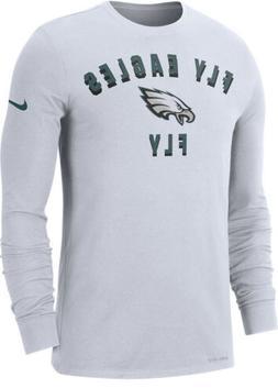 Nike Men's Philadelphia Eagles Local Sideline Long Sleeve