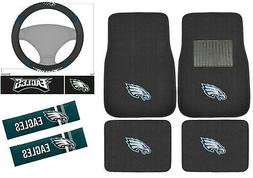 New 7pc Set NFL Philadelphia Eagles Car Truck Floor Mats Ste