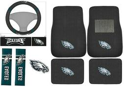 New 8pc Set NFL Philadelphia Eagles Car Truck Floor Mats Ste