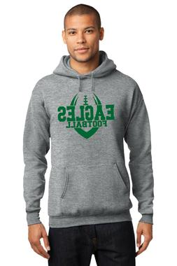 New Eagles Hoodie Gray Green Adult and Youth Size Philadelph