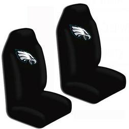 NFL Philadelphia Eagles Car Truck 2 Front Seat Covers Set -