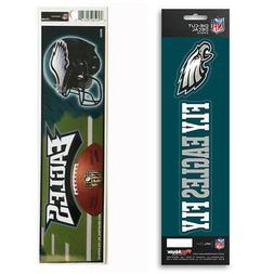 New NFL Philadelphia Eagles Die-Cut Vinyl Slogan Decal and B