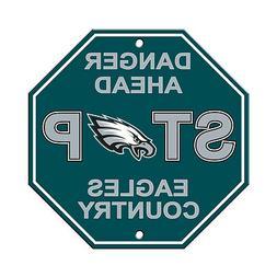 New NFL Philadelphia Eagles Home Office Bar Decor STOP Sign