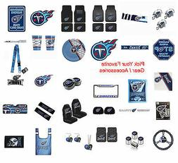 New NFL Tennessee Titans Pick Your Gear / Car Accessories Of