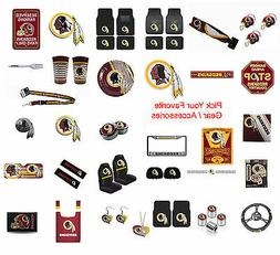 New NFL Washington Redskins Pick Your Gear / Car Accessories