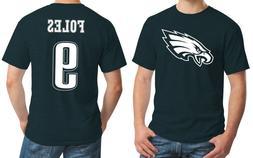 New Philadelphia Eagles Nick Foles 9 Jersey Logo T-Shirt Men