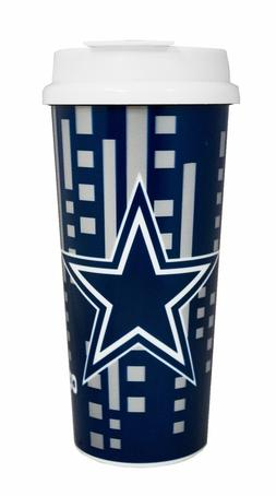 NFL 16oz Team Color Insulated Travel Tumbler Coffee Mug