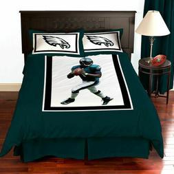 NFL Comforter Set Philadelphia Eagles 3 Piece Set Bedding Se