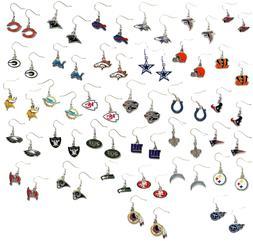 NFL dangle earrings pick your team