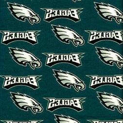 "NFL Football Philadelphia Eagles 18x29"" Fabric Fat Quarter"
