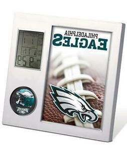 NFL PHILADELPHIA EAGLES FOOTBALL TEAM DIGITAL DESK CLOCK ALA
