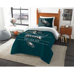 """NFL Football Philadelphia Eagles """"Draft"""" Full Queen Comforte"""