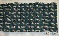 NFL Football Philadelphia Eagles Handmade Window Curtain Val