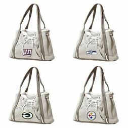 Women's Embroidered Hoodie Purse Handbag - NFL - Pick your T