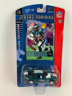 NFL Gridiron Greats Upper Deck Die Cast Car Brian Westbrook