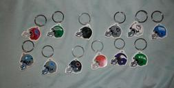 NFL Key chain lot VTG New Eagles Jets Raiders Giants Vikings