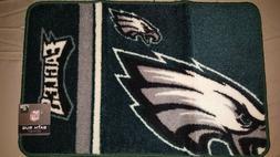 "NFL Licensed  30"" x 20"" Bath Rug Seahawks, Ravens, and Eagle"