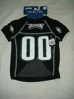 NFL Philadelphia Eagles Hunter Pet Gear #00 Pet Jersey Size