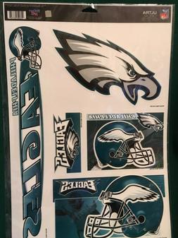 "NFL Philadelphia Eagles 11""X17"" Sheet of  Multi Decals"