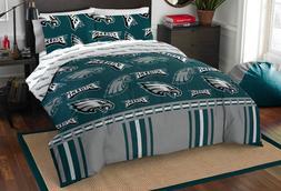 NFL Philadelphia Eagles Bed In Bag Set Comforter Sheets Pill