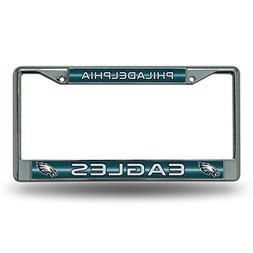 Rico NFL Philadelphia Eagles Bling Chrome License Plate Fram