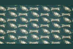 NFL PHILADELPHIA EAGLES Cotton Fabric quarter yd.