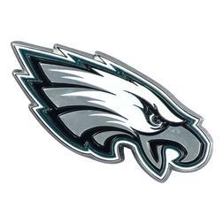 Fanmats NFL Philadelphia Eagles Diecast 3D Color Emblem Car