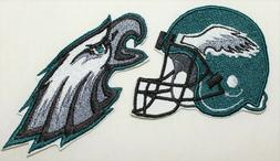 NFL  Philadelphia Eagles  Embroidered  Iron-on Patch FREE SH