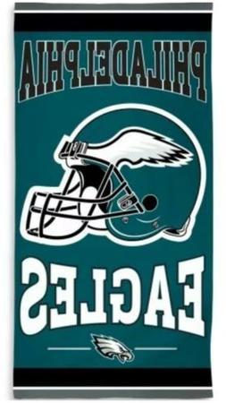 "NFL Philadelphia Eagles Fiber Beach Towel, 9 lb/30 x 60"""