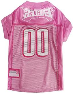 Pets First NFL Philadelphia Eagles Jersey, Large, Pink