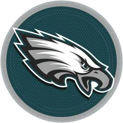 NFL PHILADELPHIA EAGLES LARGE PAPER PLATES  ~ Birthday Party