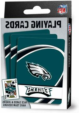 "NFL Philadelphia Eagles Playing Cards,Blue 4"" X 0.75"" X 2.62"
