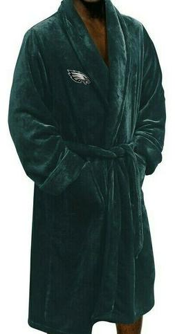 NFL Philadelphia Eagles Northwest Silk Touch Bath Robe Green