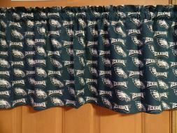 NFL PHILADELPHIA EAGLES Sports Team Bedroom Curtain Valances