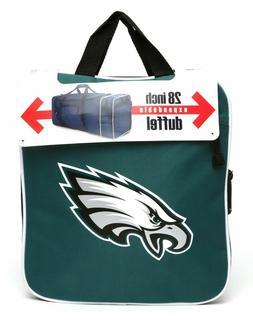 NFL Philadelphia Eagles Steal Duffel Bag Expandable  NEW