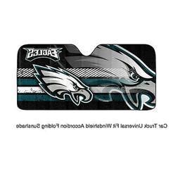NFL Philadelphia Eagles Universal Auto Shade, Large, Teal