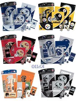 NFL Teams 11 Piece Stationery Set