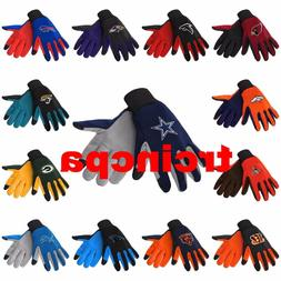 NFL Texting Technology Gloves - Pick Your Team - FREE SHIPPI