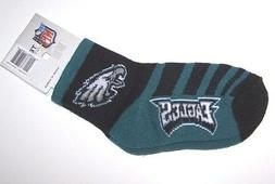 Nwt New Philadelphia Eagles Logo Football Socks Black Green