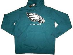 Nwt New Philadelphia Eagles Stitched Logo Hoodie Sweatshirt