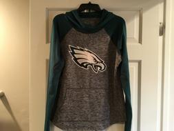 NWT-NFL Women's Philadelphia EAGLES Hoodie Hooded Sweatshi