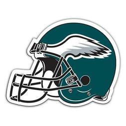 Philadelphia Eagles 12 Inch Helmet Vinyl Car Magnet  NFL Aut
