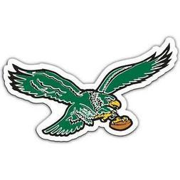 Philadelphia Eagles 12 Inch Retro Bird Car Magnet